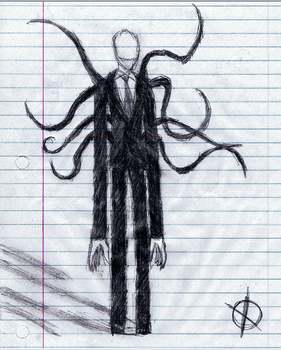 Slenderman by Cephei97