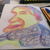 Public sketch 17/3/2015 by loobyloukitty