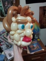 Balloon Face by DJdrummer