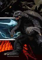 The Gamera Trilogy Poster by TrenzillaXDesigns