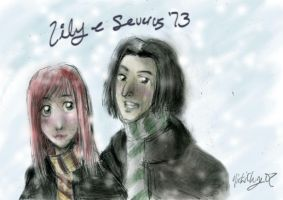 Lily + Severus '73-DH SPOILER by Savay