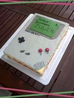 Gameboy cake by Bloody-Idea
