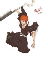 Substitute Soul Reaper by SitarHeroIX
