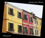 Burano Postcard by ShipperTrish