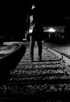 on the tracks by psychotic-cheshire