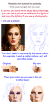 Realistic skin for portraits by MarinaSchiffer