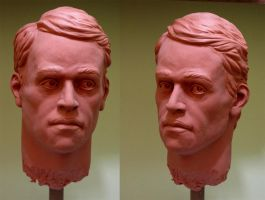 Life size head study by glaucolonghi