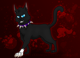 Scourge: Cat From Hell by RiverBelle