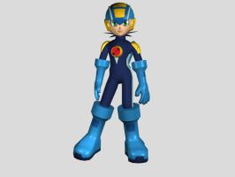 Mega Man by Dante-Flame