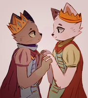 prince kittens by tooosh