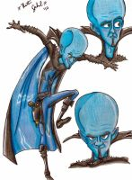 Megamind by VernFeathers