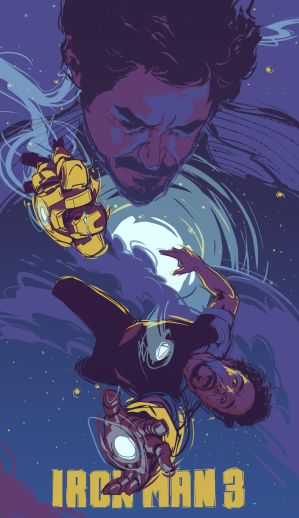 Iron Man 3 Poster by dicemanart