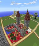 Plot World--A Cool Castle by MinecraftPhotography