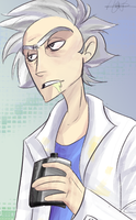 Rick Sanchez by Janusbouu