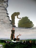 upside down by minica