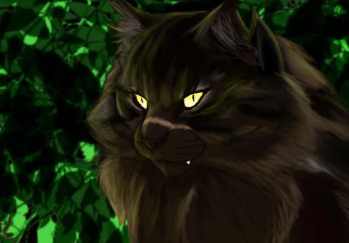In his heart there is darkness.... (Tigerstar) by Tigerflamey0