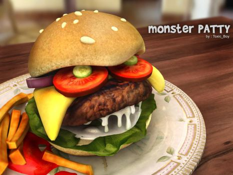 Monster Patty by ToxicBoy-3D