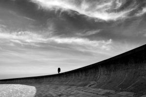 The solitary man by Addran