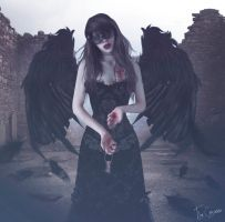 Solitary Angel by TheComtesse