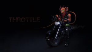 Throttle - Biker Mice from Mars by LimonTea
