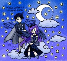 Request2 by Roseprincessmitia: Lantern + Luna by pikaplusmin