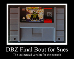 DBZ Final Bout for Snes by Maleiva