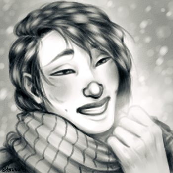 Winter Dvar by HariamArt