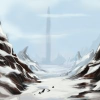 Winterscape by Enydimon