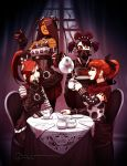Goth Tea Party by Omar-Dogan