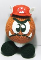 Mario Goomba by vrlovecats