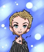Chris Martin of Coldplay 2 by GRLEE