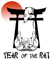 Year of the Rat by barenakedtshirts