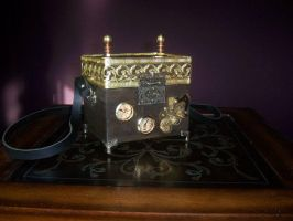 Portable Steampunk Device by lilibat