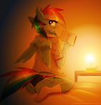 Reading Rainbow by Vulpessentia