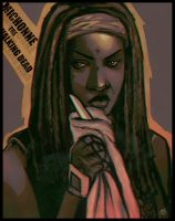 Michonne by lux-rocha