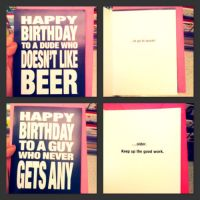 birthday cards (2) by peacmaker101