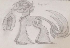 A new OC. Aw yea. by sparkIinq