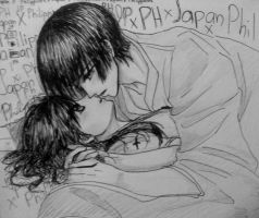 Can I kiss you? JPxPH APH by KCGutze