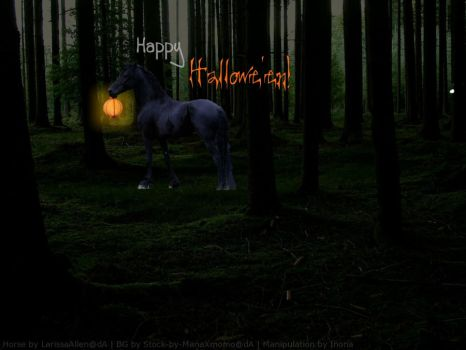 Hallowe'en horse by Sputnk