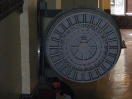 stock giant bank vault by Toboe