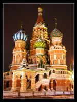 Saint Basil's Cathedral II by DaMonne