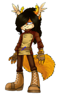 Sonicstuck: Moysha's design. by Moyra-the-cat