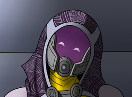 A Little Love from Tali by zp92