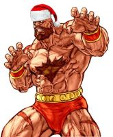 Zangief by Zamascus