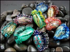 Glass Seashells by andromeda
