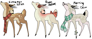 Deer auction CLOSED by Lets-Get-Lost-Adopts