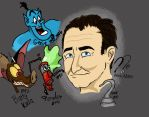 incomplete redone robin williams by LoveDonald