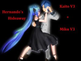 [MMD x Vocaloid 3] Hernando's Hideaway + Pose DL by Rin1997Katy