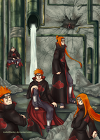 The Six Paths of Pain by ToolOfTheDay