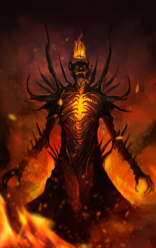 Ignis the Cleansing Fire by legendary-memory